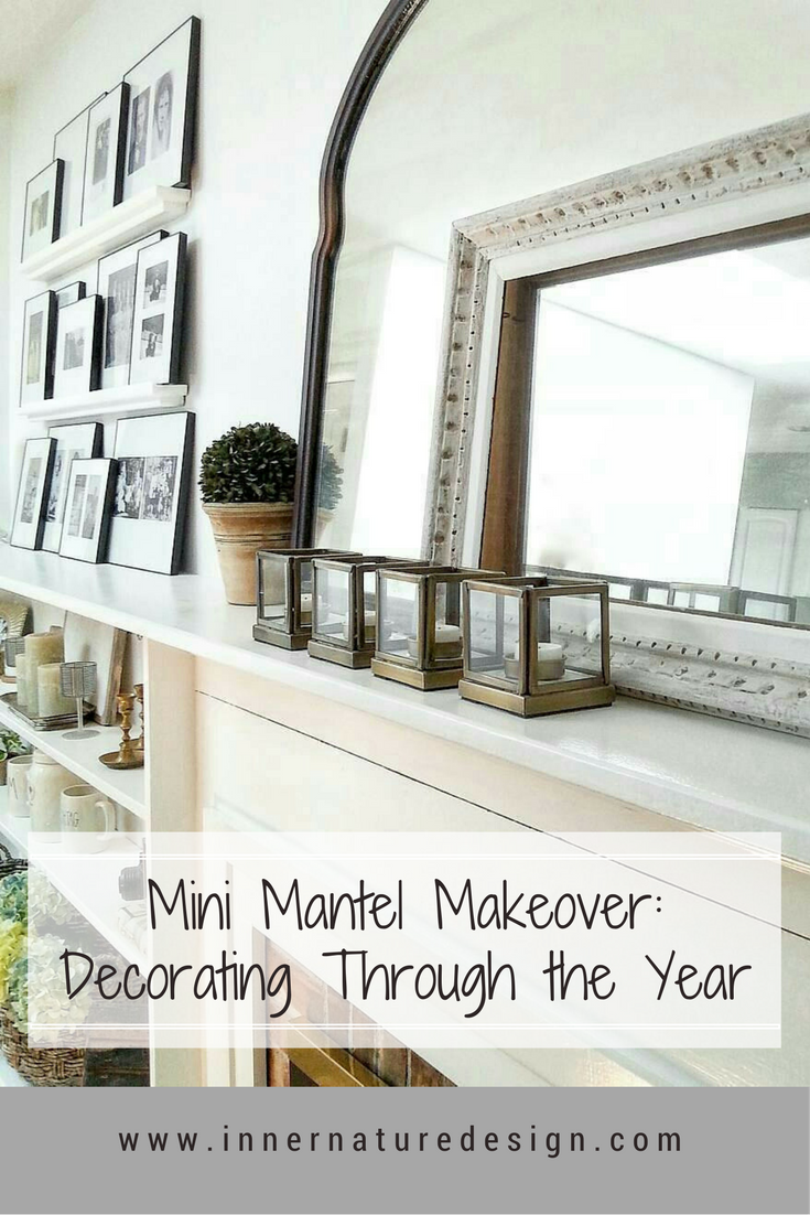 Mini Mantel Makeover