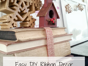 Easy DIY Ribbon Decor