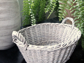 Whitewashing Wicker