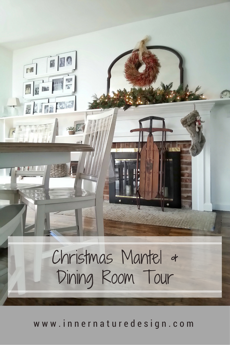 Christmas Mantel and Dining Room Tour
