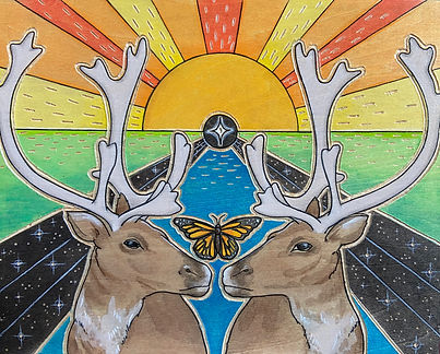 The Traveler Artwork Caribou Monarch