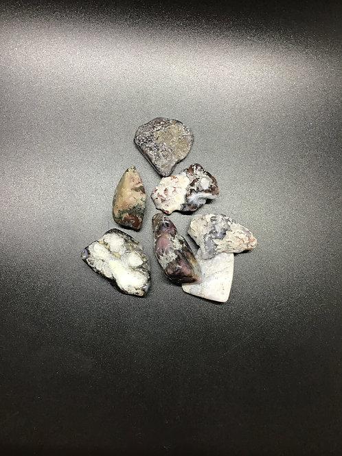 Magnesite Agate Polished