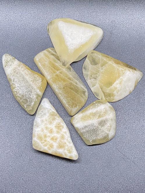 Calcite Yellow Raw