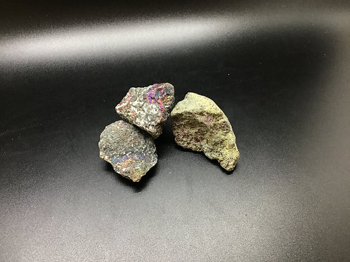 Peacock Pyrite raw