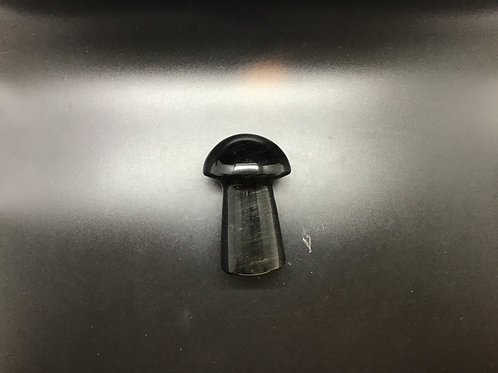 Gold Sheen Obsidian Mushroom Polished