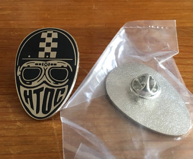 HTOC Head Pin-Badge