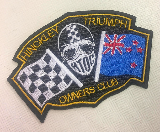 HTOC New Zealand Flag Patch