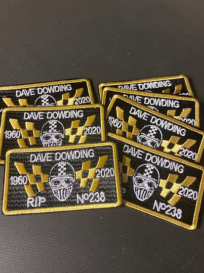 Memorial Patch: Dave Dowding