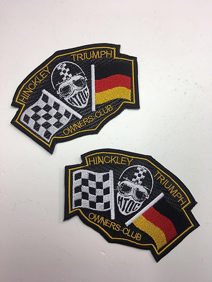 HTOC Germany Flag Patch