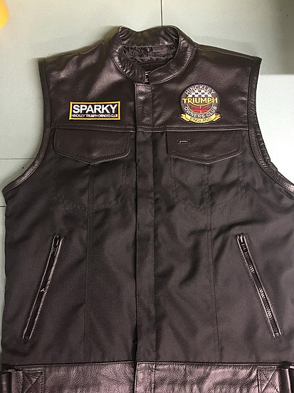 HTOC WAIST COAT  (with embroidered name patch of your choice )