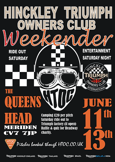 HTOC Midlands Weekender