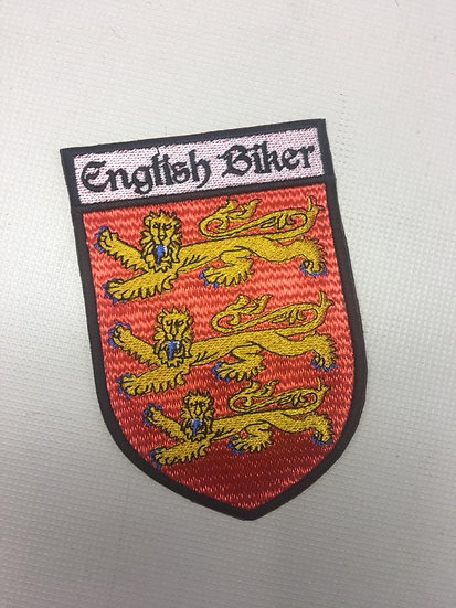 English Biker Patch