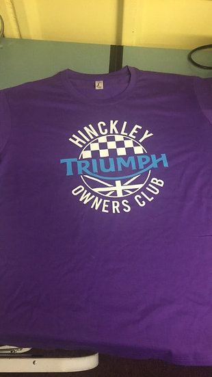 HTOC Ladies t-shirt with 'Keep up boys' back
