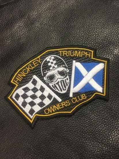 HTOC Scotland Flag Patch