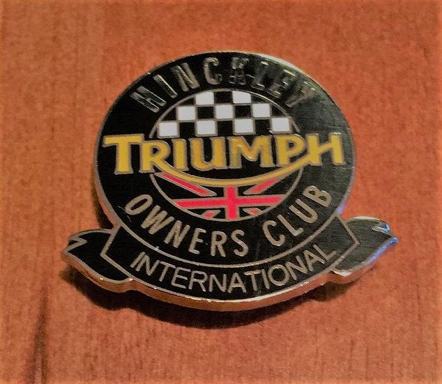 Metal HTOC Club Pin Badge