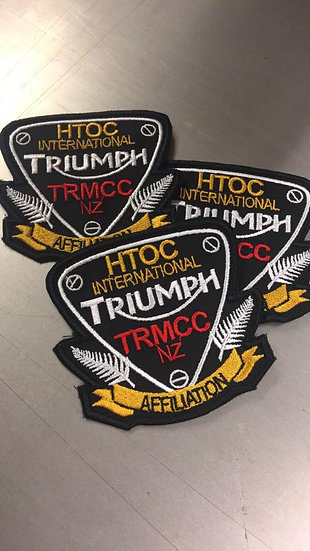 HTOC members only Affiliation patch