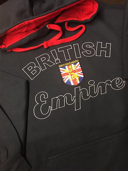 British Empire Embroidered Hoodie