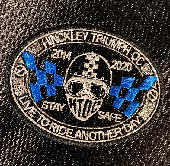 HTOC 2020 patch 'stay safe'