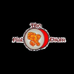 The Flat Drum Logo