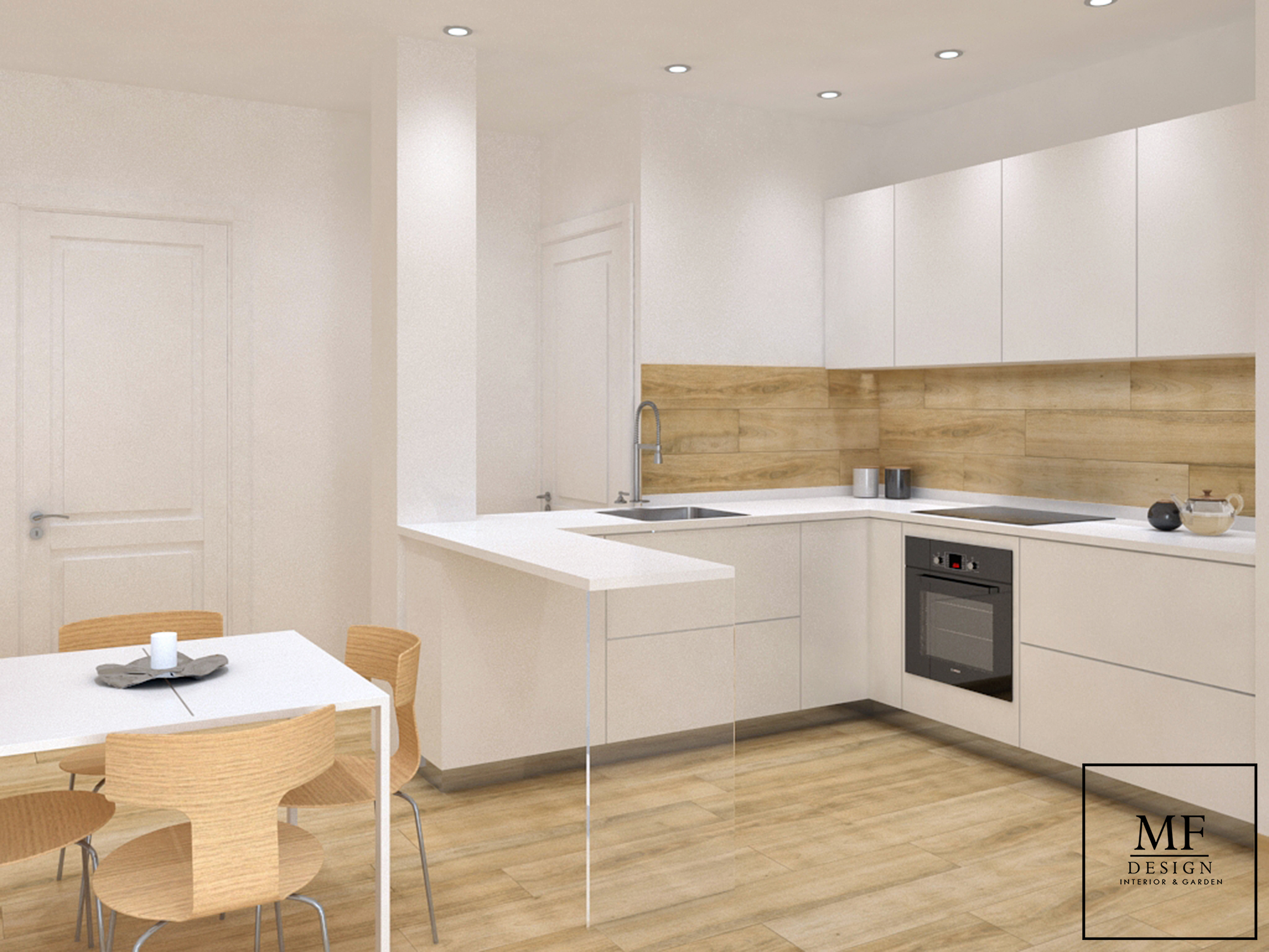 "Area cucina appartamento ""depandance"""
