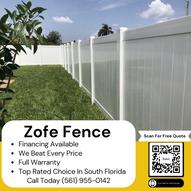 Zofe Fence Social