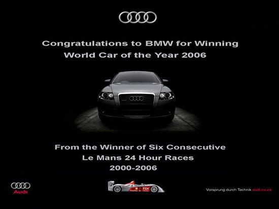 Audi Creative AD