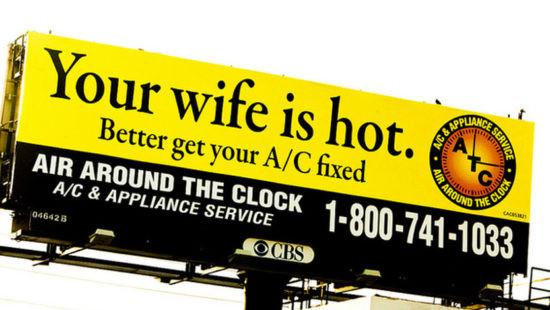 Creative Billboard Ad