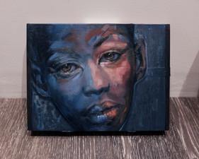 Little Boy Blue Cigar Box