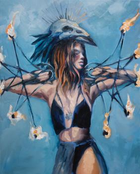 Crow Warrior Goddess