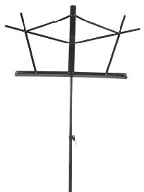 Black Wire Music Stand w/ bag