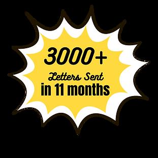 3000 letters sent Pumpkin letters.png