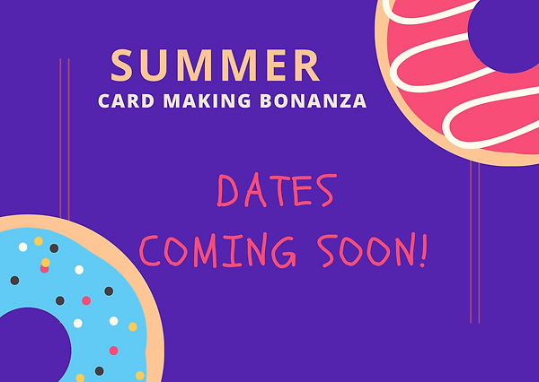 Summer dates coming soon
