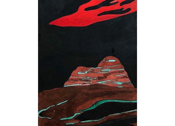 Red Desert Cloud II