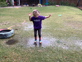 Puddles are for Jumping in...