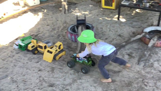 Monster Truck Track in Action...