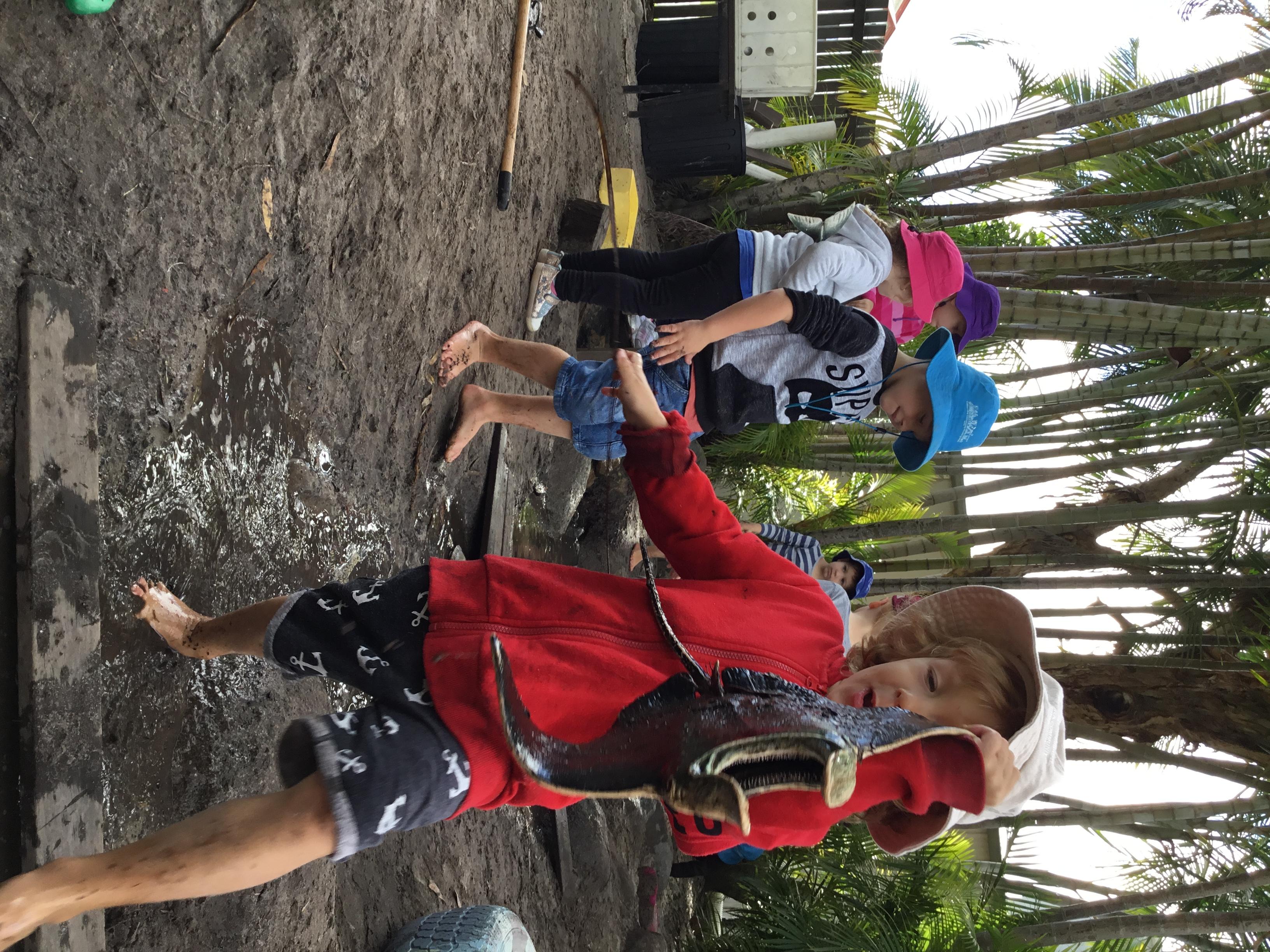 Mud Pit Fun...