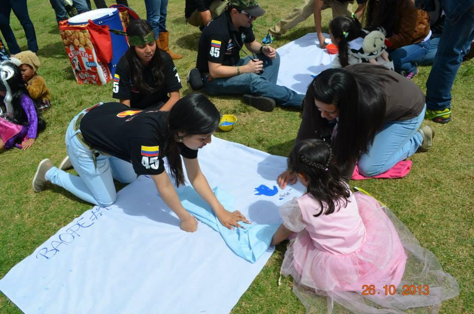 Día de los niños en el Cantón Norte
