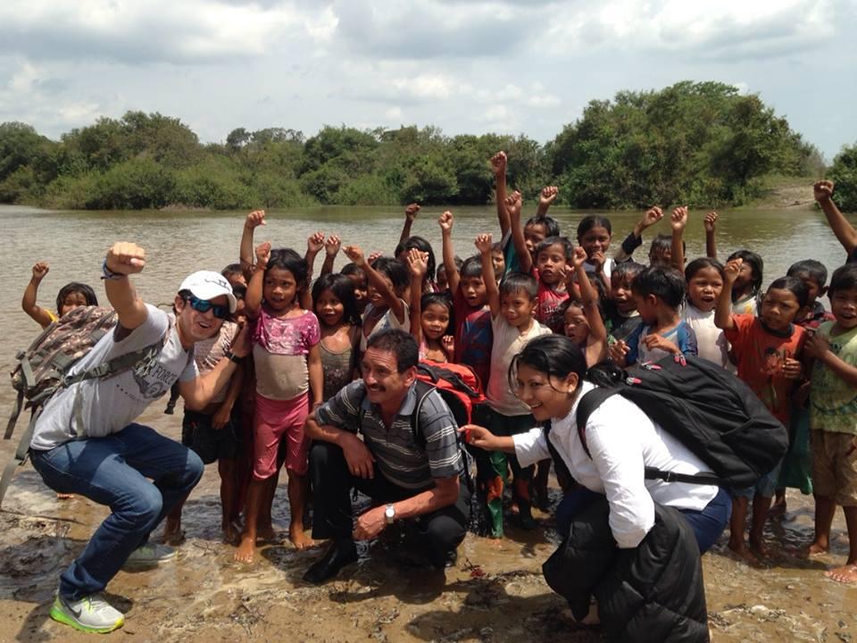Jóvenes y niños de Vichada