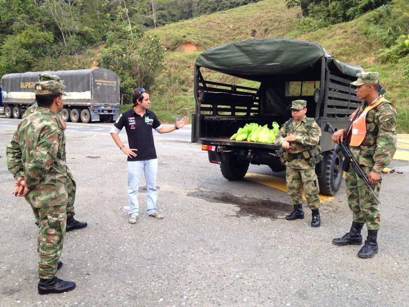 En las vías de Colombia