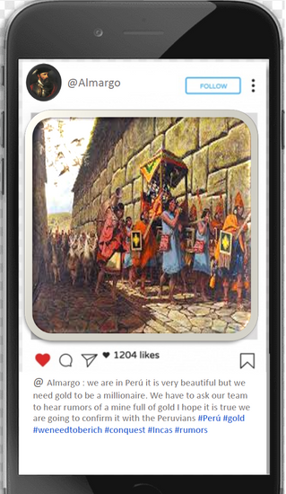 Instagram feed impacts of the conquest