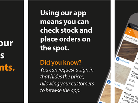 Stay with your customers when it counts - using our app