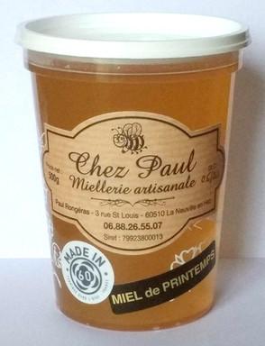 Étiquettes - Paul RONGÉRAS • LA NEUVILLE-EN-HEZ (Oise)
