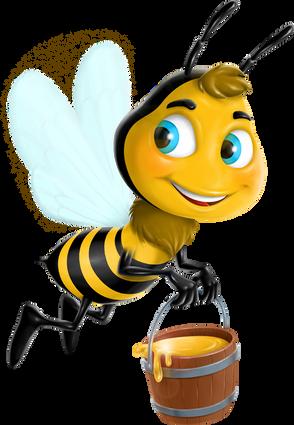 Bee-Mascotte • Illustration HD