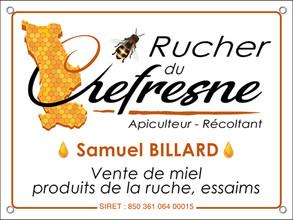 Samuel BILLARD - Le Rucher du Chefresne • Percy en Normandie (Normandie)