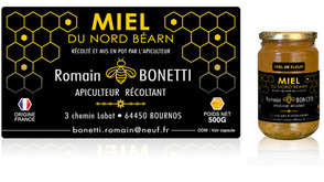 Miel du Nord Béarn - R.BONETTI •  (Pyrénées-Atlantiques)