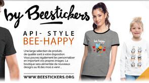 Ouverture de ByBeestickers - Produits imprimés personnalisés