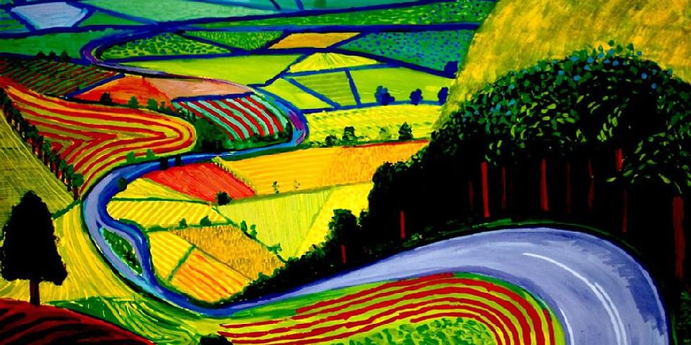 ZOOM RECORDING Children's Art Webinar 'David Hockney- Garrowby Hill'