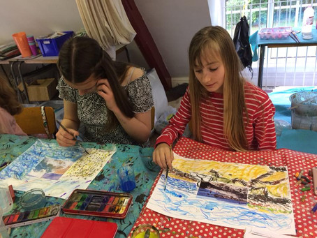 Woking Arts Work at Papercourt Studio