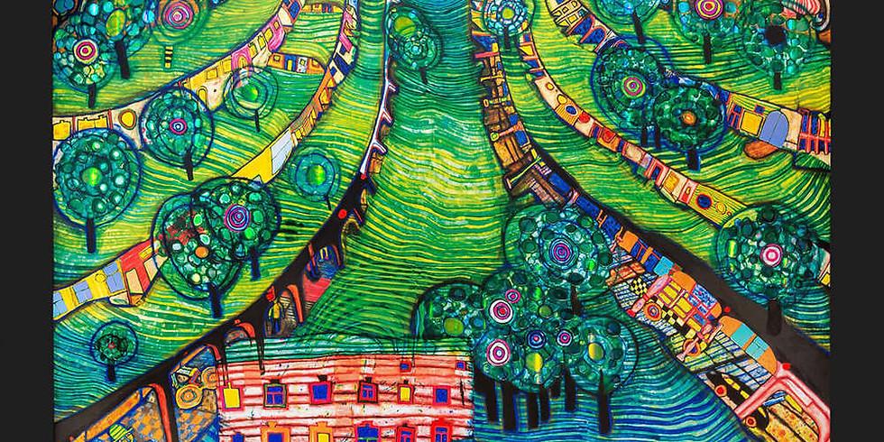 Children's Art Webinar Hundertwasser