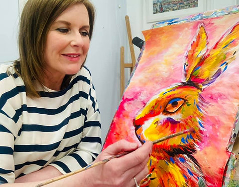 Paint and Sip at Home 'Hare'